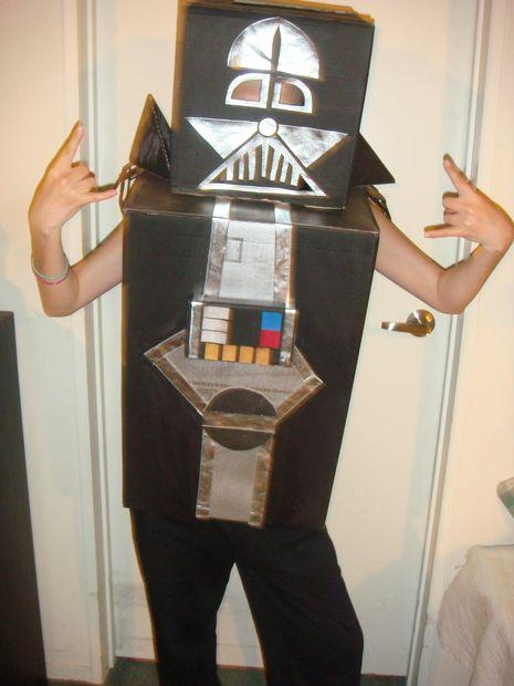 Como Hacer Un Disfraz De Darth Vader De Cajas De Carton Askix Com