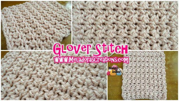 Puntada de Glover – patrón Crochet gratis - askix.com