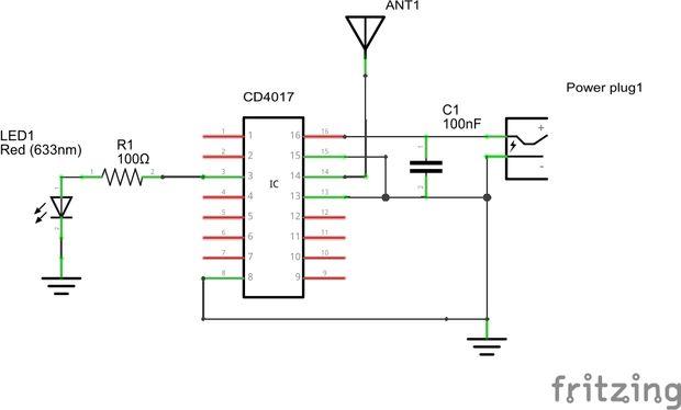 detector emf cool    paso 2  el circuito