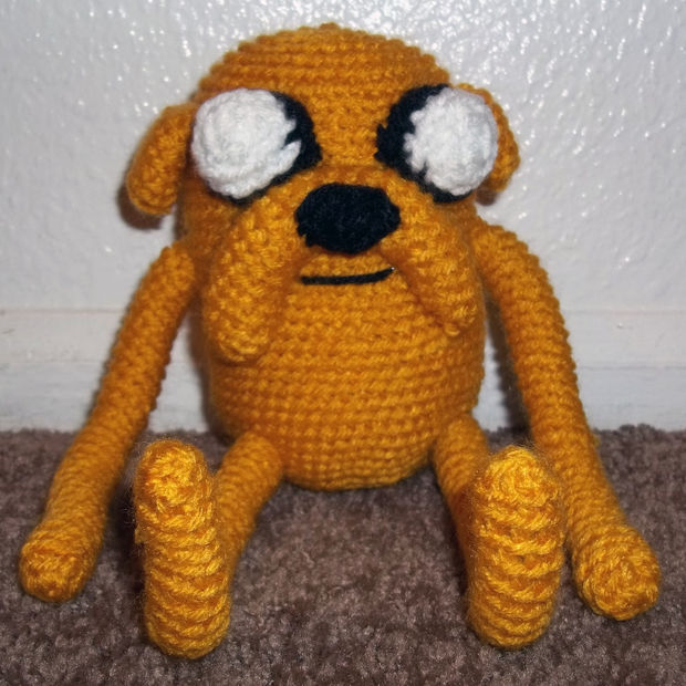 JAKE Hora de Aventuras Amigurumi Tutorial - YouTube | 620x620