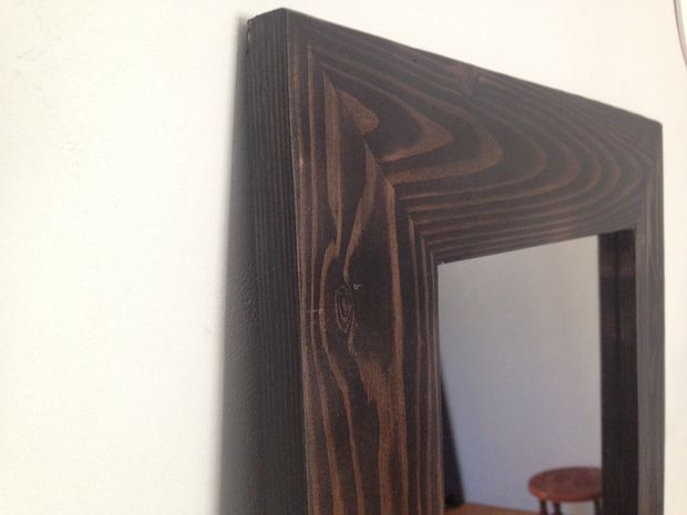 Cómo hacer un marco de madera del espejo - askix.com
