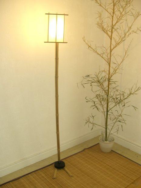 Lámpara De Bambú Askixcom