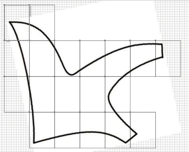 Oso de peluche gigante / Paso 3: Agrandar los patrones - askix.com