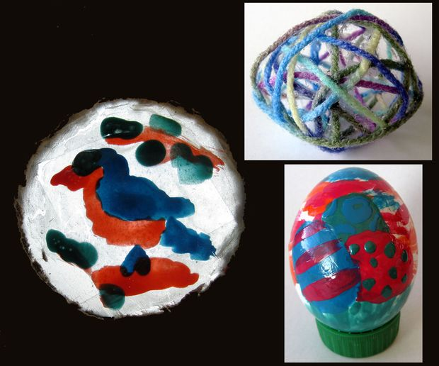 3 artes fácil usando esmalte de uñas y cáscaras de huevo - askix.com