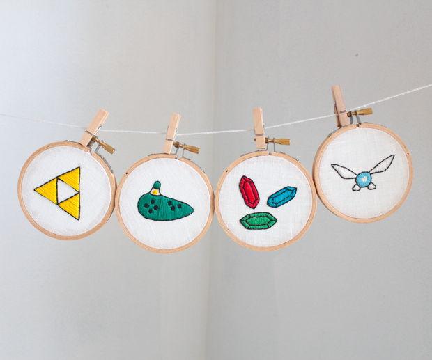 La leyenda de Zelda bordados + patrón - askix.com
