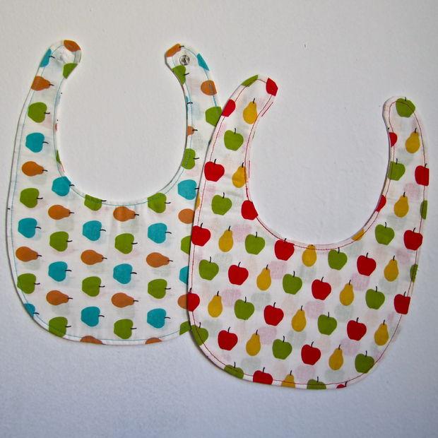 Cómo coser un babero + patrón - askix.com