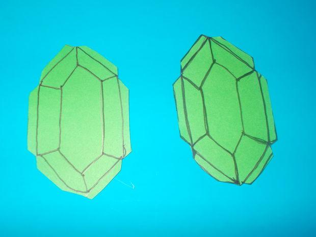 La leyenda de Zelda: Rupia de papel / Paso 1: Dibujar la Rupia ...