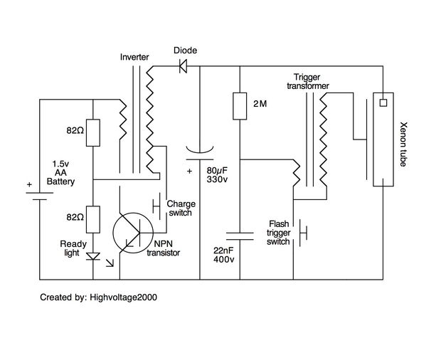 piratear una c u00e1mara de flash en una luz estrobosc u00f3pica emergencia    paso 3  modificar el