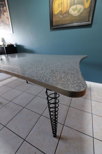 Mesa de comedor de concreto - askix.com