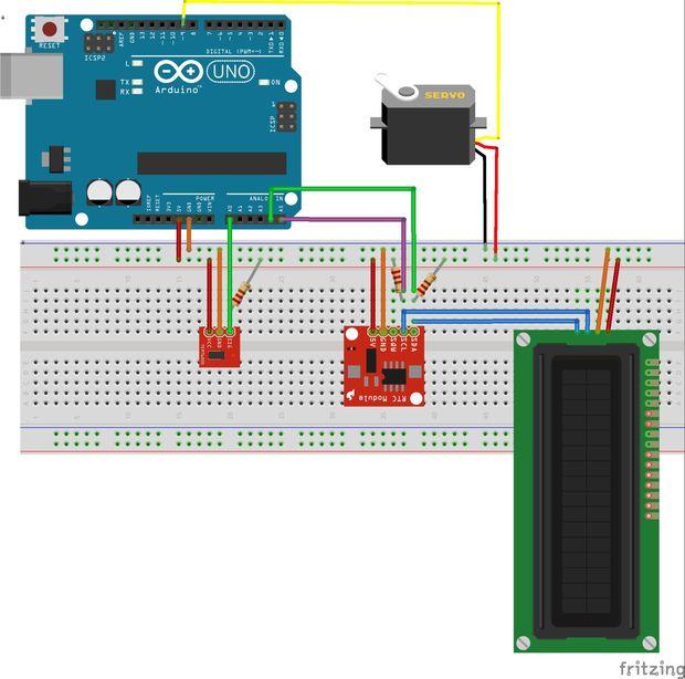 Circuito Ldr : Circuito v sensor ldr control luz led w conector solar