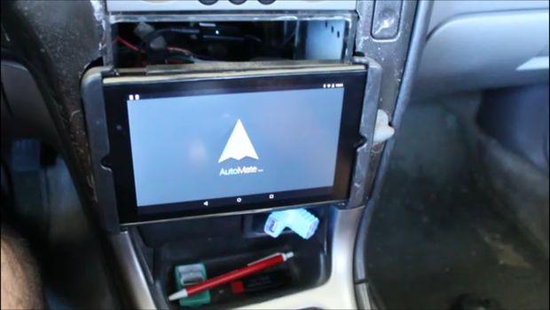 Using A Samsung Tab A As A Car Stereo