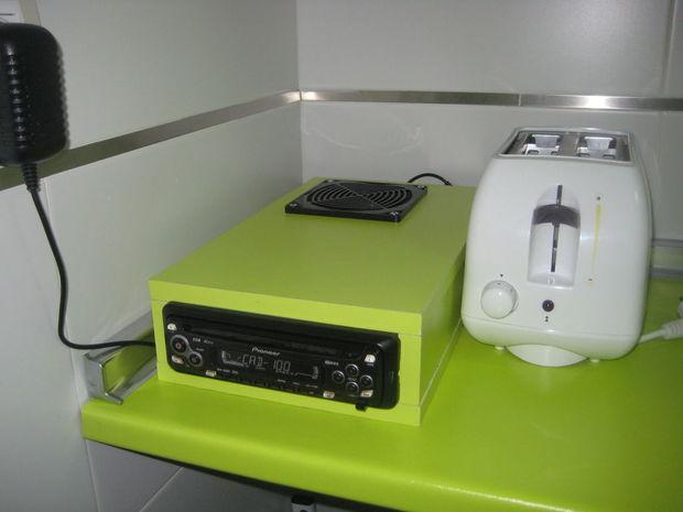 Radio Para Cocina | Radio Cd De Coche A La Cocina Askix Com