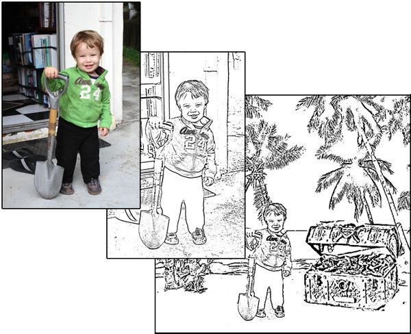 Cómo hacer un libro para colorear - askix.com