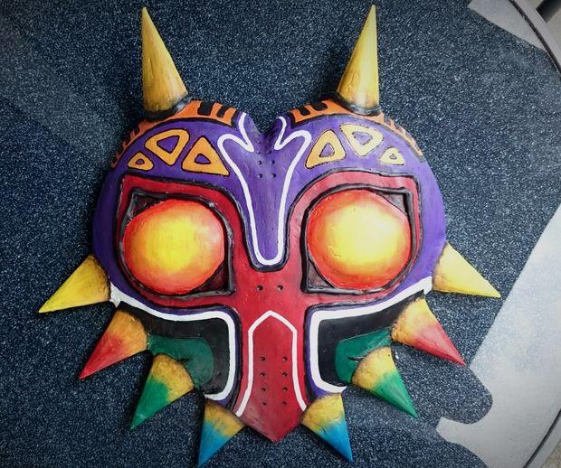 Máscara de Majora (de la la leyenda de la máscara de Zelda-Majora ...