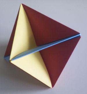 Tetraedro Origami - 2yamaha.com | 326x300