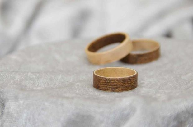 aecf261e9b35 Hacer anillos de madera (sin herramientas) - askix.com