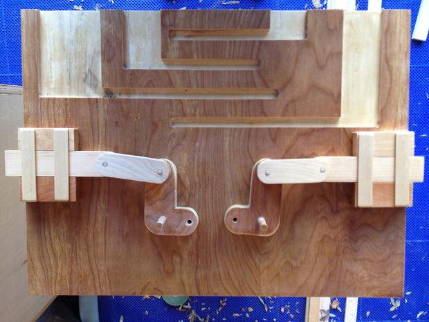 cerraduras secretas para cajas de madera