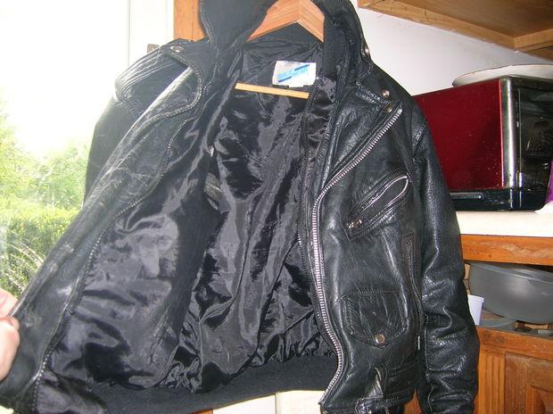 Reparar chaqueta de cuero