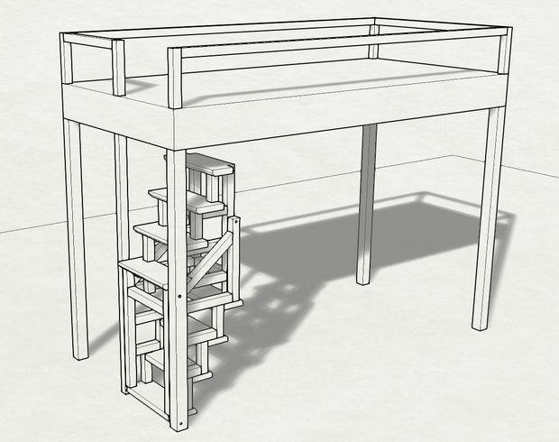 Escalera plegable madera banco escalera de madera banco - Escaleras de madera de segunda mano ...