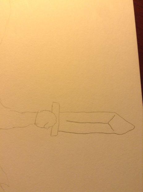 Cómo dibujar Link de Legend Of Zelda / Paso 2: Proteger el cuerpo ...