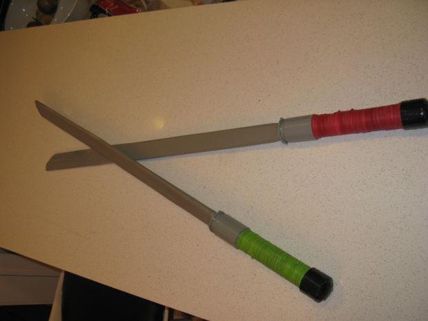 Una Halloween De Para Ninja Cómo Hacer Espada Robusta qSUzMVpG
