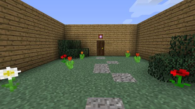 Cómo hacer una casa de lujo grande en Minecraft / Paso 2: Paso 2 ...