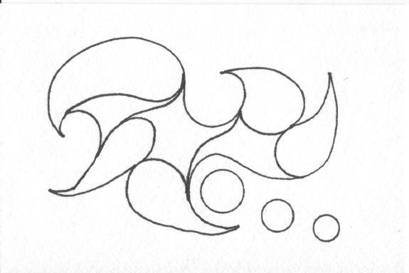 Zentangle Garabatos Paso 2 Dibujar Su Zentangle Askix Com