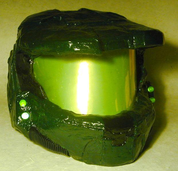 Papier Mache Master Chief casco - askix.com