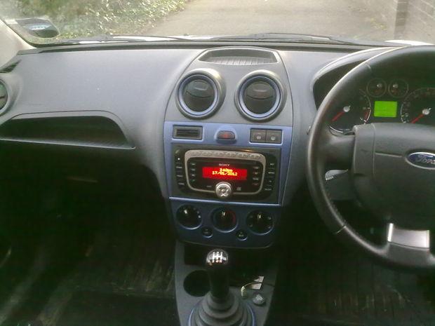 Entrada AUX FORD Fiesta a partir de 2008 en RCA