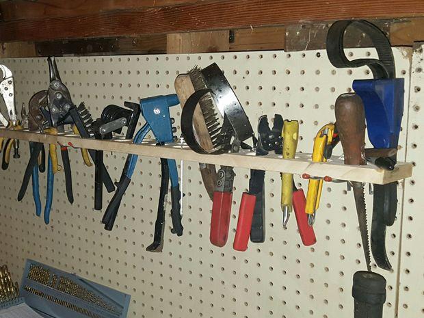 Simple y barato organizador de herramientas - Organizador de herramientas ...