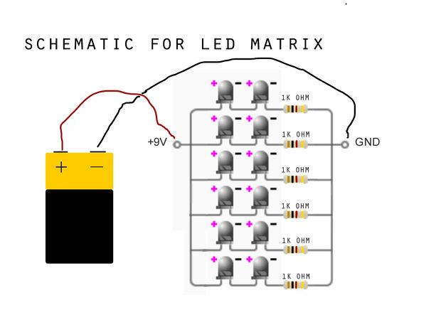 9 volt battery led wiring wire center u2022 rh malltecho pw LED Lights LED Wiring Circuit Diagram