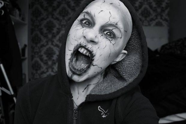 maquillaje de halloween demonio - Maquillaje Demonio