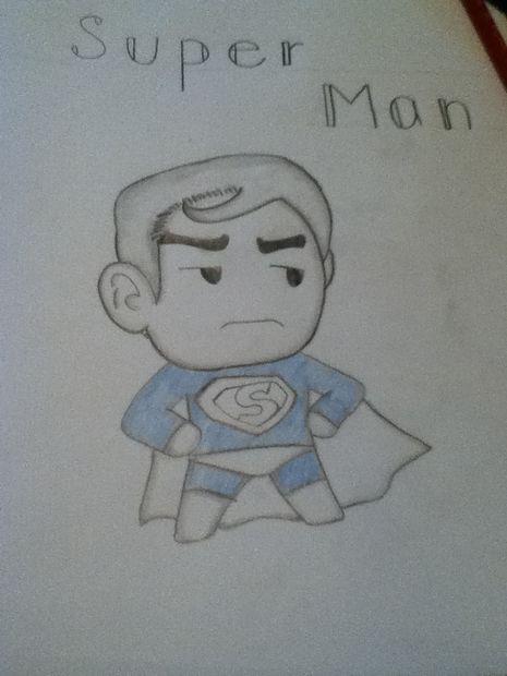 Cómo Dibujar A Superman Paso 4 Colores Askixcom