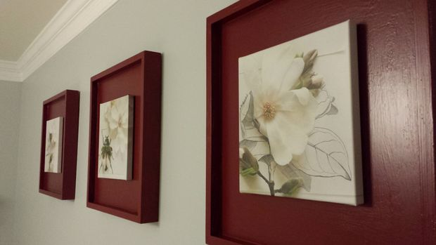 Fabricaci n de marcos cuadro de ikea hack for Marcos para lienzos