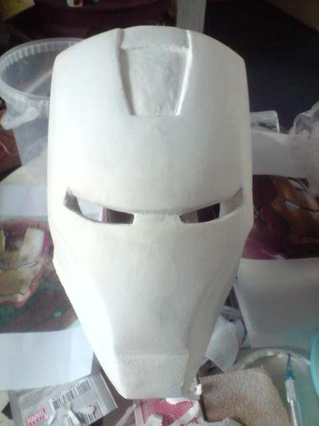 Casco de hombre del hierro / Paso 5: remodelación - askix.com