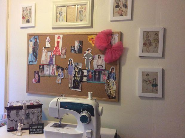 Hacer un cuarto de costura en un pequeño presupuesto - askix.com