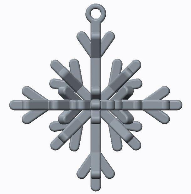 Signo de metal oxidado Copo de Nieve Navidad Decoración Ornamento de inicio Tienda Nieve Invierno