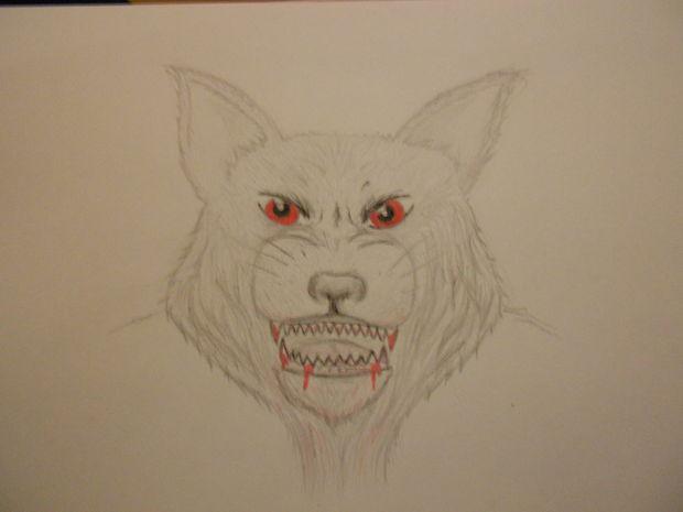 Dibujo A Lápiz Hombre Lobo Halloween Paso A Paso Askixcom