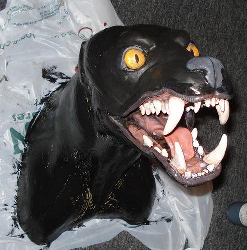 Cabeza De Hombre Lobo Halloween Decoracion Paso 5 Pintar Tu Lobo