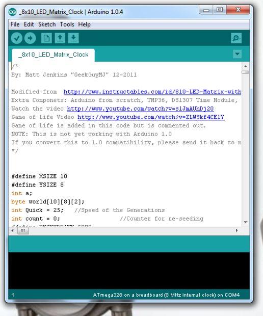 USBASP programación un ATMega328P con un reloj interno de