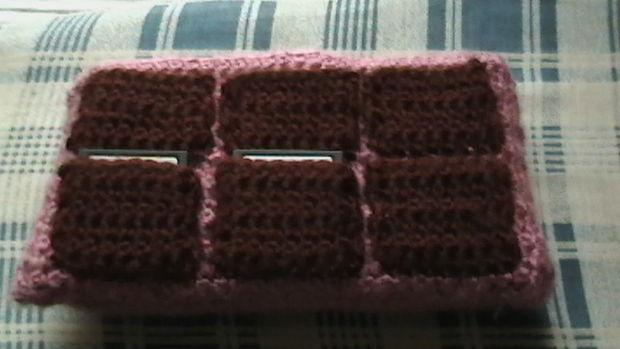 Cómo crochet un caso de Nintendo DS (para el reto de hilo marca León ...