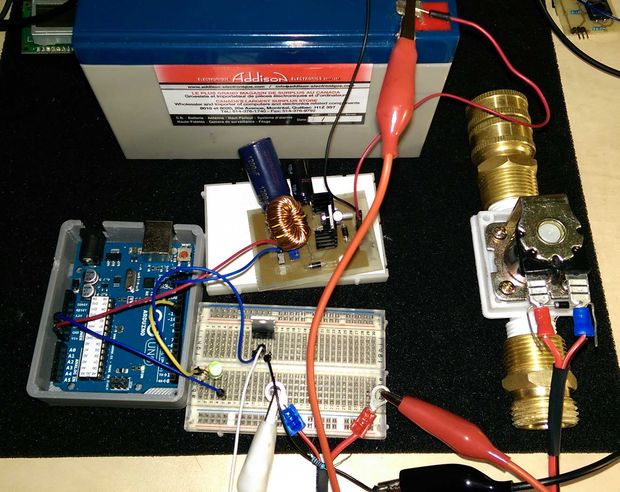 controla una valvula solenoide   arduino askixcom