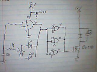 Circuito Ventilador : Schmidt trigger regulación de velocidad de ventilador