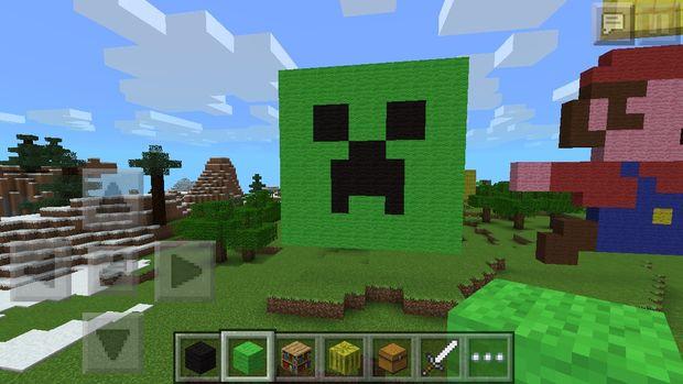 Enredadera Cara Minecraft Pixel Art Askixcom
