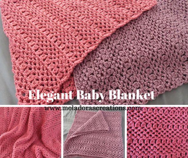 Elegante manta - Tutorial de Crochet gratis - askix.com