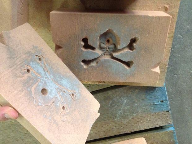 Fundición de aluminio correa de hebilla / Paso 2: Hacer el molde de ...