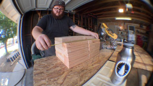 Como Construir Un Juego De Jenga Gigante Paso 2 Coloque Las
