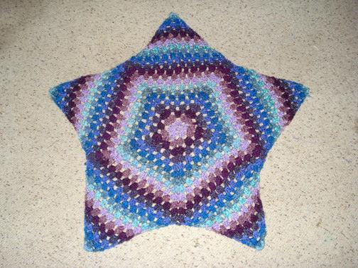 Starburst alfombra de ganchillo - askix.com