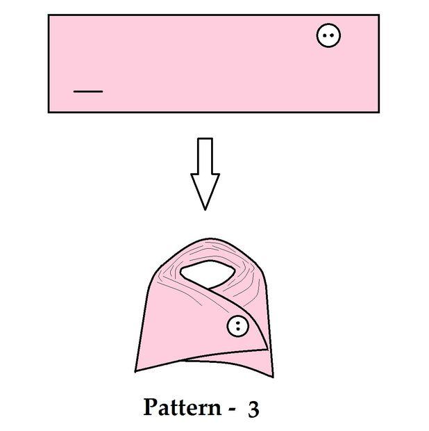 Calentadores de cuello DIY (botón trucos!) / Paso 3: Patrones ...
