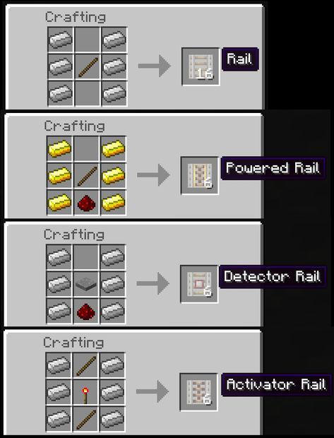 Cómo Se Mina En Minecraft Paso 3 Carros Y Rieles Askix Com